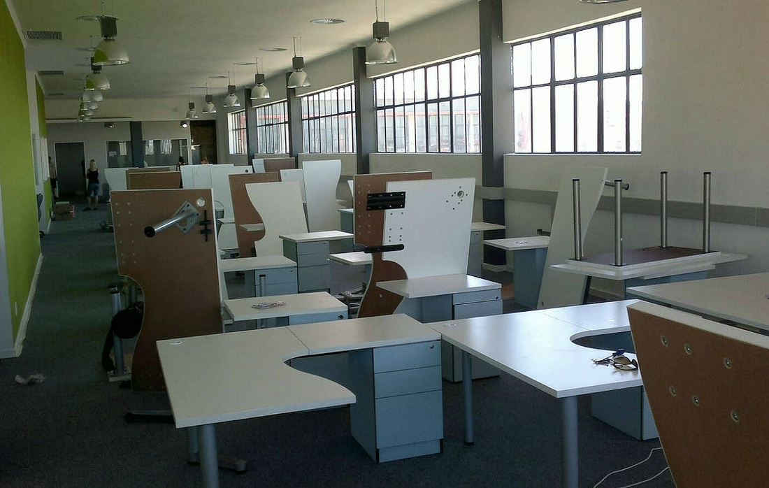 Completed office furniture projects - Office Concepts - office