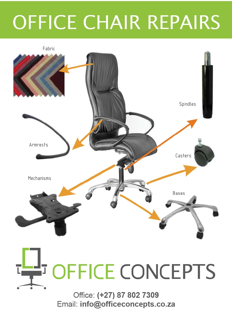 Repairs Of Office Chairs   Office Concepts   Office Furniture Supplier And  Manufacturer Cape Town